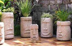 Fresh Cement Molds For Planters Concrete Planter Boxes, Concrete Plant Pots, Diy Concrete Planters, Diy Planter Box, Concrete Garden, Diy Planters, Diy Concrete Mold, Concrete Projects, Garden Types