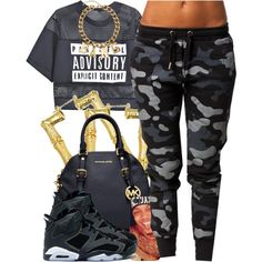 july 12 2k14, created by xo-beauty on Polyvore urban swag women's fashion street style