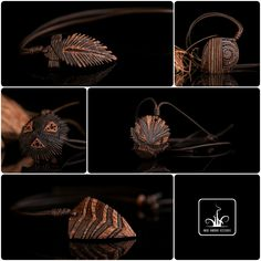 ART Nut One of a kind jewelry from wood and coconut shell Handmade by Victor Carabashof Etsy Shop ArtNutJewelry. Coconut Shell Crafts, Woodworking Projects Diy, Wooden Jewelry, Bracelets For Men, Wood Carving, Wood Art, Jewelery, Shells, Rings For Men