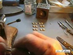 How to make a BALL BRACELET from scratch with amazing silversmith LUIS F. MORENO #jewelrymaking