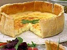 Torta Folhada de Queijo - Foto de Mais Você na TV
