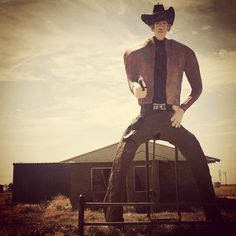 This is odd. Abandoned Cowboy. Conley, Texas.  Kelly Dey photography.