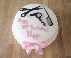 Hair Stylist Cake Decorating Image From Http Thecakeryleamington Co Uk Wp Content