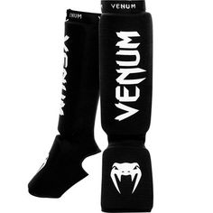 81d5e8b9c5b Venum Kontact Shin and Instep Guards - Black Uniseks, Training Warm Up,  Sport Geschenken