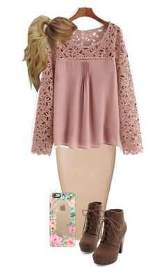 """""""Old Fashioned"""" by miagracerobinson❤️ Komplette Outfits, Church Outfits, Modest Outfits, Classy Outfits, Fall Outfits, Fashion Outfits, Womens Fashion, Pentecostal Outfits, Apostolic Pentecostal"""