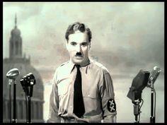 """Die Rede aus dem Film """"Der große Diktator"""" von Charles Chaplin aus dem Jahr 1940 Hintergrundmusik: """"Time"""" von Hans Zimmer"""