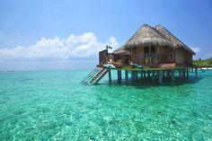 Luxury Kanuhura Hotel, Maldives - just beautiful.