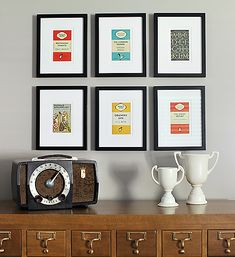 """We gave a few """"never framed before"""" bloggers $500 to spend at their local Michaels Custom Frame Counter. This is what they framed. Custom Framed Gallery Wall by @Ashley Walters @ 7th House Blog #Mframe"""