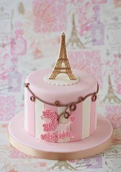 Zoe Clark Cakes - Paris cake