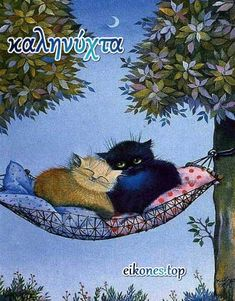 Funny Cat Pictures, Animal Pictures, Good Night Love Images, Good Night Quotes, Kitten Cartoon, Super Cat, Cat Sleeping, Cat Wallpaper, Cat Drawing