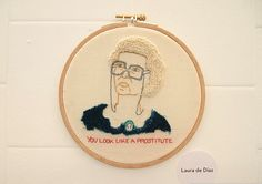 Golden Girls Embroidery