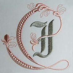 Forget the flourish, graph the letter Fleur de Lis Alphabet- i: Sonia Showalter