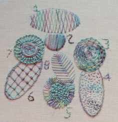 Ideas for filling stitches from http://www.needlework-tips-and-techniques.com