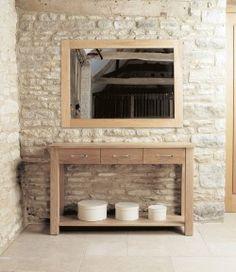 oak bathroom storage cabinet baumhaus mobel oak console table entry hallway hallway mirror small wall mirrors entryway