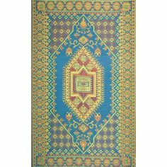 """Indoor Outdoor Rug Runner - 2.5' X 8' - Turkish Aqua by Mariachi. Save 46 Off!. $59.99. Indoor/outdoor, non-skid surface, reversible. Waterproof and washable outdoor rugs. Made of recycled polypropylene which is a plastic like material.. 30"""" x 8 ft Runner. Wonderful color.. Decorative outdoor runner with the perfect marriage of functionality and decorative design. Woven using multi colored polypropylene threads. Polypropylene is a plastic rubber like material so you can leave these rugs…"""