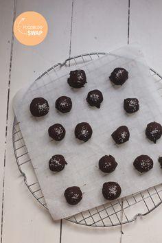 Foodblogswap: Bounty truffels - Taste our Joy!