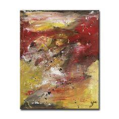 Ready2HangArt Zane 'Energy' Abstract Canvas Wall Art