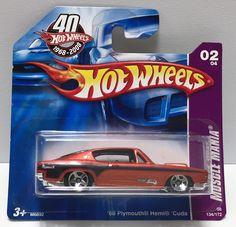(TAS033979) - 2007 Mattel Hot Wheels Muscle Mania - '68 Plymouth Hemi Cuda