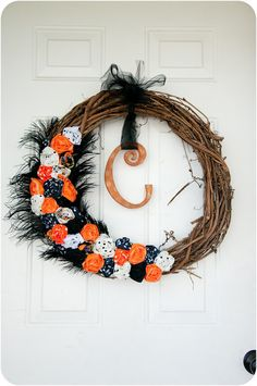 Love this! You could make one for year round, not just Halloween!