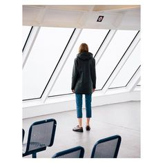 We're on a boat.  Stockholm Black captured beautifully by @grantharder and @sjashby on a real boat outside Vancouver. #Stutterheim #swedishmelancholy #aroundtheworld