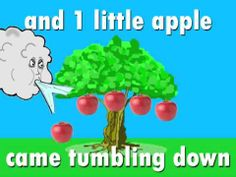 5 Little Apples chant song by Harry Kindergarten 1:48 minutes