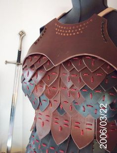 aden chest plate for women.