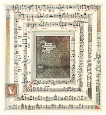 Tom Phillips - Six of Hearts: Songs for Mary Wiegold Tom Phillips, Musical Composition, Music Score, 2017 Ideas, Gcse Art, Wassily Kandinsky, Map Art, Gcse 2017, Toms