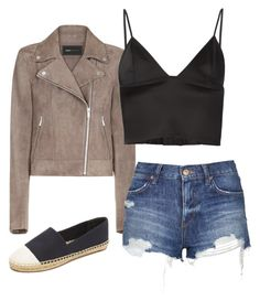 """""""Untitled #231"""" by preppedinpolos on Polyvore featuring BCBGMAXAZRIA, Topshop, T By Alexander Wang and Tory Burch"""