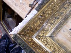 How To Repair A Gilded Plaster Picture Frame For The