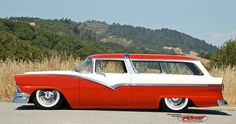 1956 Ford Crown Victoria wagon - this would have been a worthy competitor for the Chevrolet Nomad and Pontiac Safari.