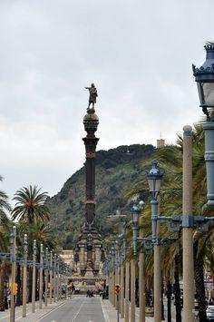 Passeig de Colom, Barcelona Catalonia