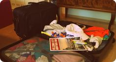Juoksuhullun vaimo: Valmistautumista ja pakkaamista.