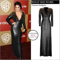 vanessa+hudgens+in+black+gold+sequin+long+sleeve+gown+on+january+13+2013+at+the+2013+Warner+Bros+And+InStyle+Golden+Globe+Awards+After+Party+in+beverly+hills+fashion.jpg (680×680)