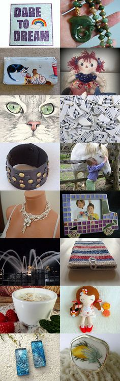 Everyone has a Dream by Nancy on Etsy--Pinned with TreasuryPin.com #statteam