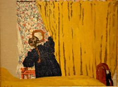 Edouard Vuillard (1868-1940) - The Yellow Curtain, 1893