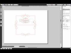 Silhouette Studio 25: Adding Decorative Element to a Frame Part 2