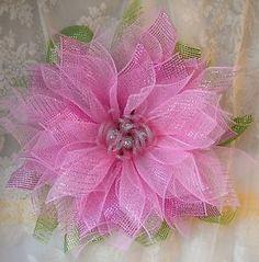Handmade-Light-Pink-wall-flower-wreath-Easter-Spring-Summer-Valentines