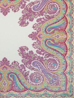 ETRO Printed Paisley Shawl   ETRO Women's Scarves SS 14
