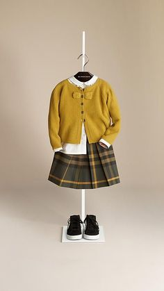 Shop childrenswear from Burberry, a playful collection for boys and girls years, baby featuring check parkas, dresses, trousers and shoes Baby Kids Clothes, Toddler Girl Outfits, Little Girl Dresses, Toddler Fashion, Little Girl Fashion, Boy Fashion, Fashion Sets, Fashion Outfits, Vetement Fashion