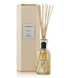 Bordeaux Vanilla Noir 250ml Fragrance Diffuser by Glasshouse Fragrances