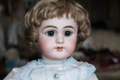 Rare and Cute Poupee DEP Jumeau Closed Mouth - Castellidoll