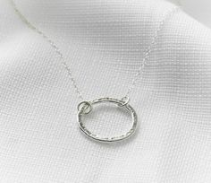 Hey, I found this really awesome Etsy listing at https://www.etsy.com/listing/117225531/silver-necklace-silver-circle-necklace