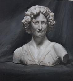 Olieverf op paneel 42 x 45 cm 2015 Replica of J. Angel…