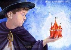 The Young Ring Master by Lizz Robertson Klaras  on ARTwanted LK Custom Creations on Facebook www.LizzKlaras.showitsite.com