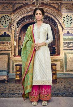 Buy Flamboyant Teal Green Colored Partywear Embroidered Silk Anarkali Suit at Rs. Salwar Suits Online, Salwar Kameez Online, Designer Salwar Suits, Pakistani Salwar Kameez, Pakistani Suits, Pakistani Dresses, Anarkali Suits, Diwali, Palazzo Suit