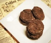 Soft and Chewy Paleo Chocolate Cookies...at step 3 I just add everything.