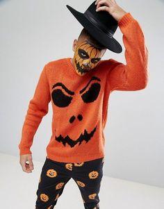 ASOS Halloween Pumpkin Sweater
