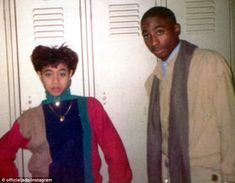 Jada Pinkett Smith shares photos of herself and the late Tupac Shakur