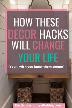 Are you remodeling your bathroom? And looking for the best organization hacks to keep a clean bathroom. These habit will help you stay organized and look like a professional decorator.
