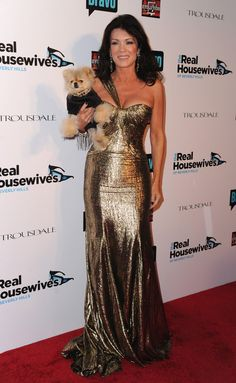 """Socialite Lisa Vanderpump arrives at Bravo's """"The Real Housewives of Beverly Hills"""" series party on October 11, 2010 in West Hollywood, Cali..."""